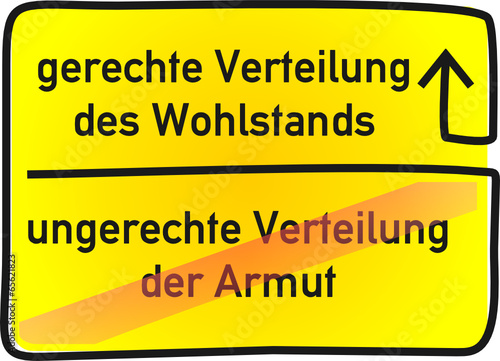 Wohlstand - Armut