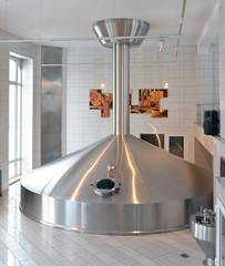 modernes Sudhaus in einer Brauerei // brewery