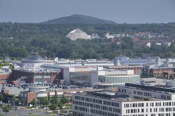 Aussicht Richtung Centro Oberhausen