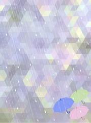あじさい 梅雨 背景 抽象 hydrangea mosaic background
