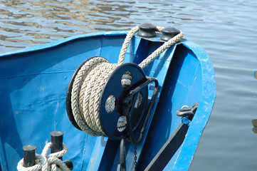 Fishing vessel bow
