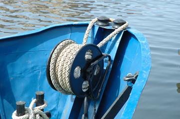 Fishing vessel bow