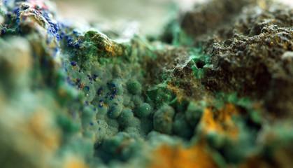 Crystal. Extreme closeup