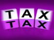 Tax Blocks Displays Taxation and Duties to IRS