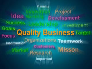 Quality Business Brainstorm Displays Excellent Company Reputatio