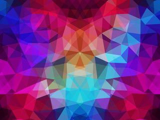 Abstract Geometrical Multicolored Background