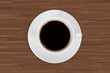 Cup of Black Coffee Drink