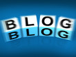 Blog Blocks Displays Webpage Article or Journal