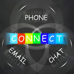 Words Displays Connect by Phone Email or Chat