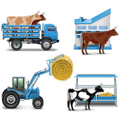 Vector Agricultural Icons Set 3