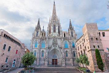 Cathedral of Barcelona, Catalonia