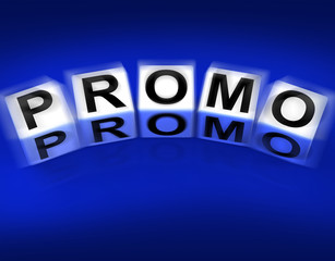 Promo Blocks Displays Advertisement and Broadcasting Promotions