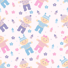 background with children for scrapbook