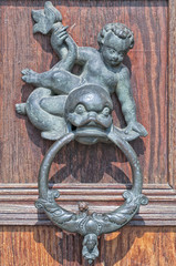 Ornate Cast Iron Door Knocker