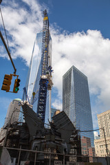 World Trade center building, New York