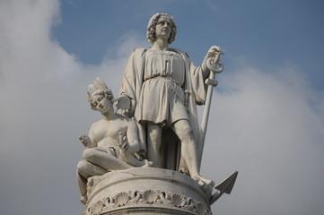 statua di cristoforo colombo