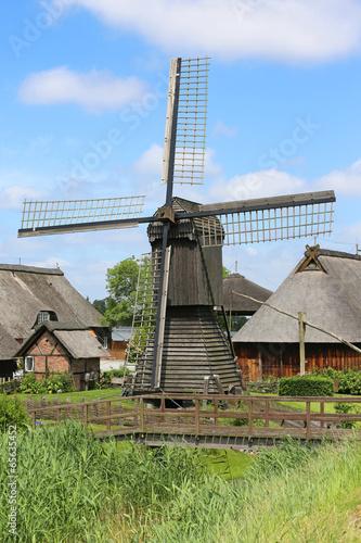 Leinwanddruck Bild Bockmühle