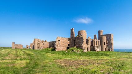 Slains Castle ruins UK Scotland
