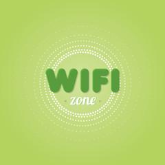 Wifi zone background