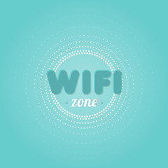 Wifi zone background