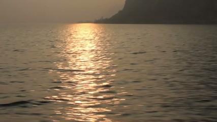 Tramonto al lago d'Iseo