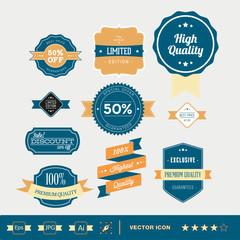 conjunto de iconos para web de comercio