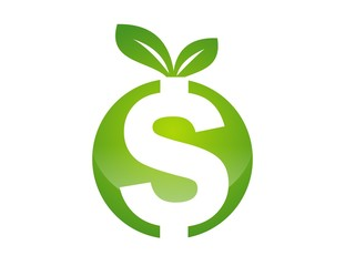 logo symbol icon investment and financial fruit