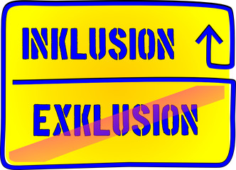 Inklusion – Exklusion