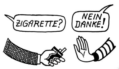 Verführung zum Rauchen