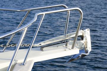 Close Up of boat anchor