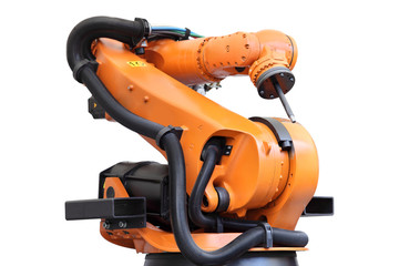 Robot przemysłowy.