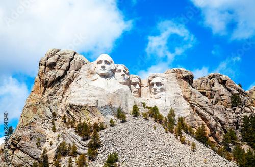 Fotobehang Historisch mon. Mount Rushmore monument in South Dakota