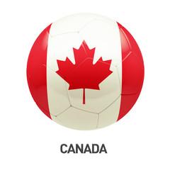 Canada Flag Soccer Icon
