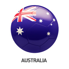 Australia Flag Soccer Icon