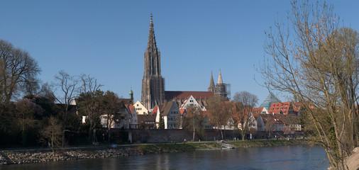 Ulm an der Donau mit Ulmer Münster