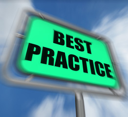 Best Practice Sign Displays Better and Efficient Procedures