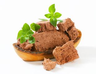 Chocolate halva