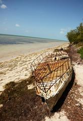 Makeshift raft