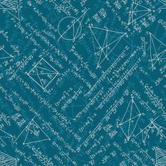 Mathematics seamless. EPS 10