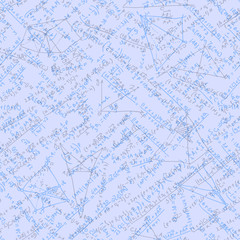 Math seamless background. EPS 10