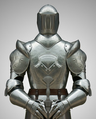 armure de chevalier du Moyen-Age