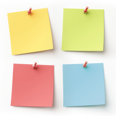 Blank Colorful Sticky Notes