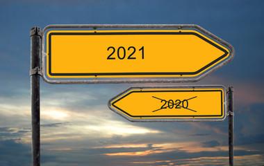 Strassenschild 18 - 2021