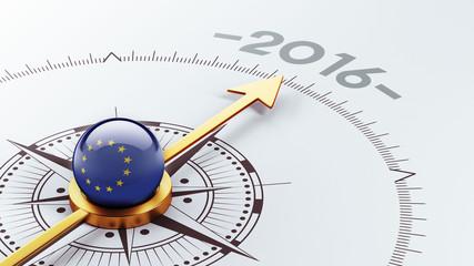 European Union 2016 Concept