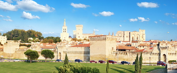 Panoramique d' Avignon