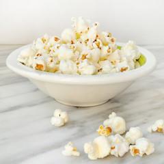 Popcorn on marble top