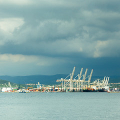Port of Koper, Slovenia, Europe.
