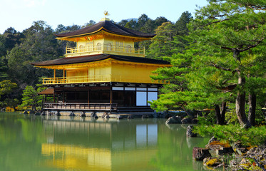Golden Temple at Kyoto
