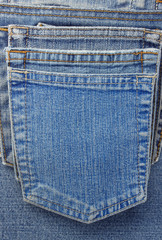 jeans blue pocket