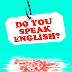 Do You Speak English? On Hook Displays Foreign Language Learning